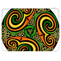 Celtic Celts Circle Color Colors Samsung Galaxy Tab 7  P1000 Flip Case