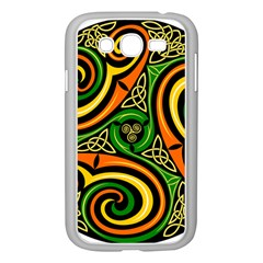 Celtic Celts Circle Color Colors Samsung Galaxy Grand Duos I9082 Case (white)