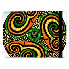 Celtic Celts Circle Color Colors Samsung Galaxy Tab Pro 12 2  Flip Case