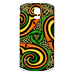 Celtic Celts Circle Color Colors Samsung Galaxy S5 Back Case (white)