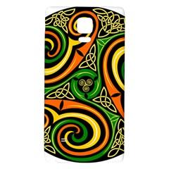 Celtic Celts Circle Color Colors Galaxy Note 4 Back Case