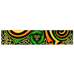 Celtic Celts Circle Color Colors Flano Scarf (small)