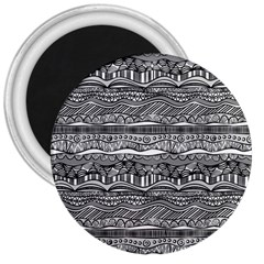 Ethno Seamless Pattern 3  Magnets