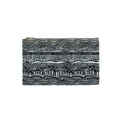 Ethno Seamless Pattern Cosmetic Bag (small)