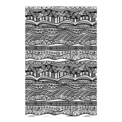 Ethno Seamless Pattern Shower Curtain 48  X 72  (small)