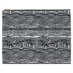 Ethno Seamless Pattern Cosmetic Bag (xxxl)