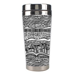 Ethno Seamless Pattern Stainless Steel Travel Tumblers
