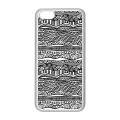 Ethno Seamless Pattern Apple Iphone 5c Seamless Case (white)