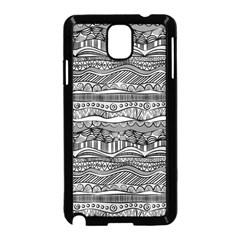 Ethno Seamless Pattern Samsung Galaxy Note 3 Neo Hardshell Case (black)