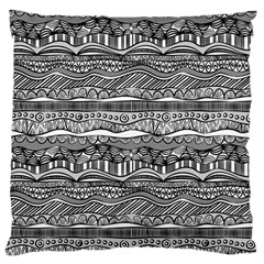 Ethno Seamless Pattern Standard Flano Cushion Case (one Side)