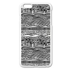 Ethno Seamless Pattern Apple Iphone 6 Plus/6s Plus Enamel White Case