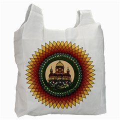 Building Mandala Palace Recycle Bag (two Side)