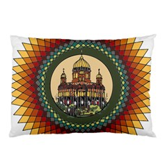 Building Mandala Palace Pillow Case (two Sides)
