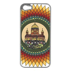 Building Mandala Palace Apple Iphone 5 Case (silver)