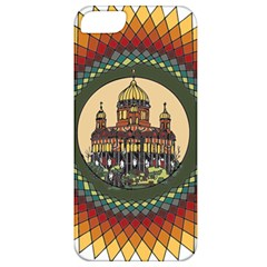 Building Mandala Palace Apple Iphone 5 Classic Hardshell Case