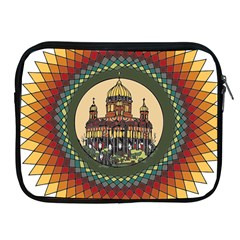 Building Mandala Palace Apple Ipad 2/3/4 Zipper Cases