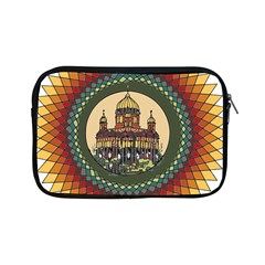 Building Mandala Palace Apple Ipad Mini Zipper Cases