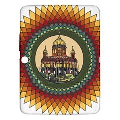Building Mandala Palace Samsung Galaxy Tab 3 (10 1 ) P5200 Hardshell Case