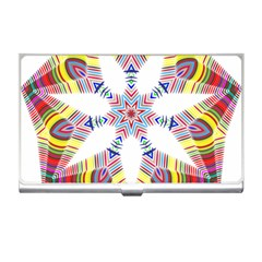 Colorful Chromatic Psychedelic Business Card Holders