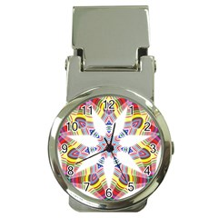 Colorful Chromatic Psychedelic Money Clip Watches