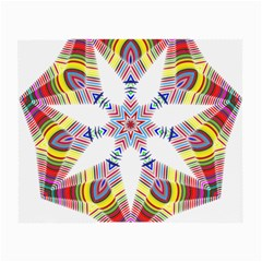Colorful Chromatic Psychedelic Small Glasses Cloth (2 Side)