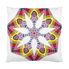 Colorful Chromatic Psychedelic Standard Cushion Case (two Sides)