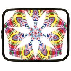 Colorful Chromatic Psychedelic Netbook Case (xl)