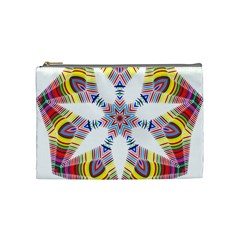 Colorful Chromatic Psychedelic Cosmetic Bag (medium)