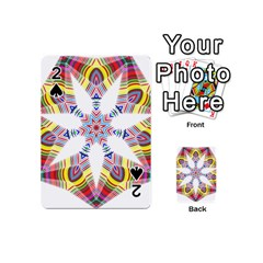 Colorful Chromatic Psychedelic Playing Cards 54 (mini)