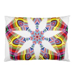 Colorful Chromatic Psychedelic Pillow Case (two Sides)