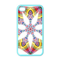 Colorful Chromatic Psychedelic Apple Iphone 4 Case (color)