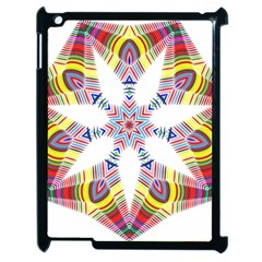 Colorful Chromatic Psychedelic Apple Ipad 2 Case (black)