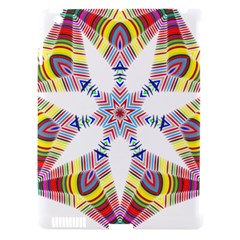 Colorful Chromatic Psychedelic Apple Ipad 3/4 Hardshell Case (compatible With Smart Cover)