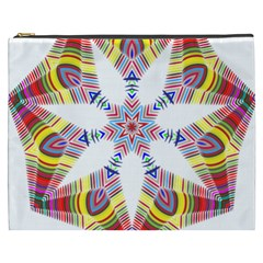 Colorful Chromatic Psychedelic Cosmetic Bag (xxxl)