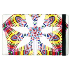 Colorful Chromatic Psychedelic Apple Ipad 2 Flip Case