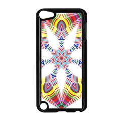 Colorful Chromatic Psychedelic Apple Ipod Touch 5 Case (black)