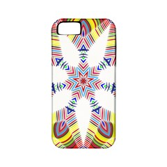 Colorful Chromatic Psychedelic Apple Iphone 5 Classic Hardshell Case (pc+silicone)