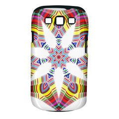Colorful Chromatic Psychedelic Samsung Galaxy S Iii Classic Hardshell Case (pc+silicone)