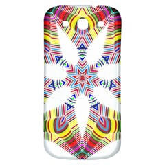 Colorful Chromatic Psychedelic Samsung Galaxy S3 S Iii Classic Hardshell Back Case