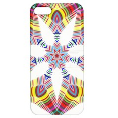 Colorful Chromatic Psychedelic Apple Iphone 5 Hardshell Case With Stand
