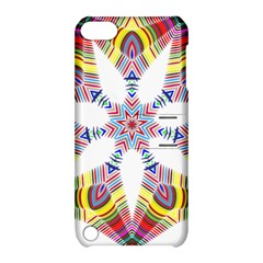 Colorful Chromatic Psychedelic Apple Ipod Touch 5 Hardshell Case With Stand