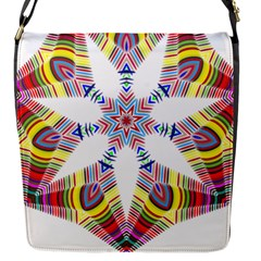 Colorful Chromatic Psychedelic Flap Messenger Bag (s)