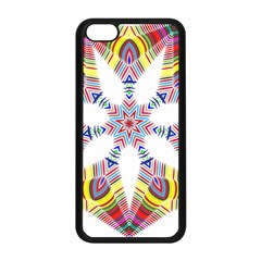 Colorful Chromatic Psychedelic Apple Iphone 5c Seamless Case (black)