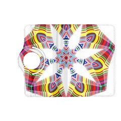 Colorful Chromatic Psychedelic Kindle Fire Hd (2013) Flip 360 Case