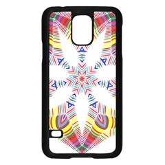Colorful Chromatic Psychedelic Samsung Galaxy S5 Case (black)