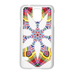 Colorful Chromatic Psychedelic Samsung Galaxy S5 Case (white)