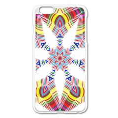 Colorful Chromatic Psychedelic Apple Iphone 6 Plus/6s Plus Enamel White Case