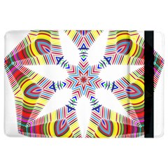 Colorful Chromatic Psychedelic Ipad Air 2 Flip