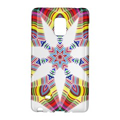 Colorful Chromatic Psychedelic Galaxy Note Edge