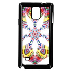 Colorful Chromatic Psychedelic Samsung Galaxy Note 4 Case (black)